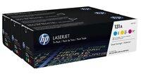 Картридж лазерный HP LJ 131A M276n/M276nw/M251n/M251nw,CF211A, CF212A, CF213A Tri-Pack (U0SL1AM)