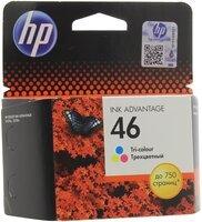 Картридж струйный HP No.46 Ultra Ink Advantage Tri-color (CZ638AE)