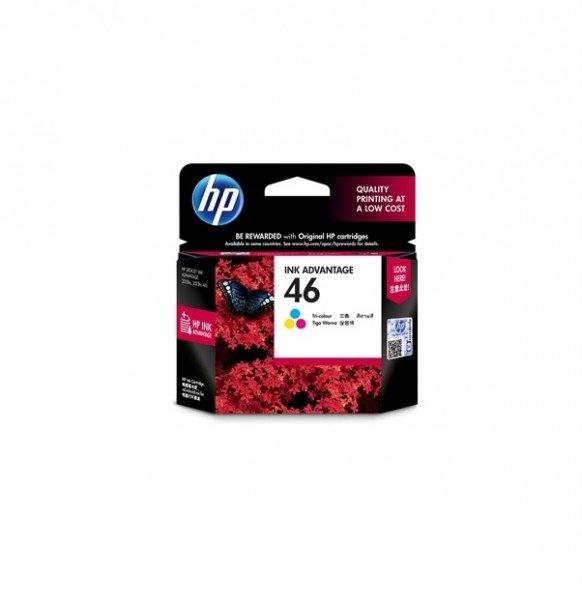 Купить Картридж струйный HP No.46 Ultra Ink Advantage Tri-color (CZ638AE)