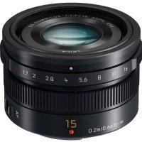 Объектив Panasonic Leica DG Summilux 15 mm f/1.7 ASPH. Black (H-X015E-K)