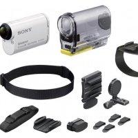 Экшн-камера SONY HDR-AS100V + BLT-UHM1 + AKA-WM1 (HDRAS100VW.CEN)