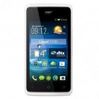 Смартфон Acer Liquid Z200 (Z7) DS White