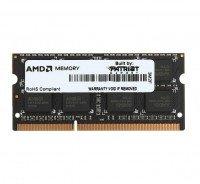 Пам'ять для ноутбука AMD DDR3 1600 4GB 1,5V SO-DIMM (R534G1601S1S-UOBULK)