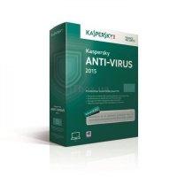 Антивирус Kaspersky Anti-Virus 2015 2 Desktop BOX (KL1161OBBFS)