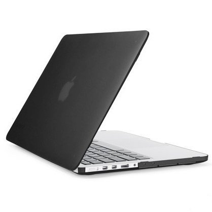 "Накладка Ozaki O!macworm TightSuit MacBook Pro 13"" Retina Display Black фото"