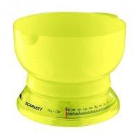 Весы кухонные Scarlett SC-1210 (желтый)