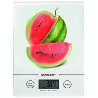 Весы кухонные Scarlett SC-1213(белый/ассорти)