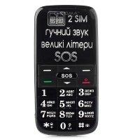 Мобильный телефон Sigma Comfort 50 Slim Black