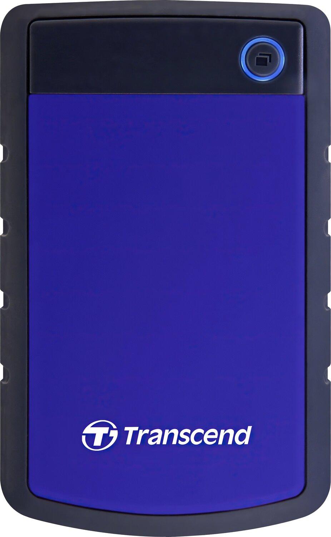 """Жесткий диск TRANSCEND 2.5"""" USB3.0 StoreJet 2TB серия H Blue (TS2TSJ25H3B) фото"""