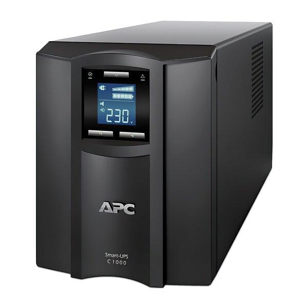 ИБП APC Smart-UPS C 1000VA LCD (SMC1000I)  - купить со скидкой
