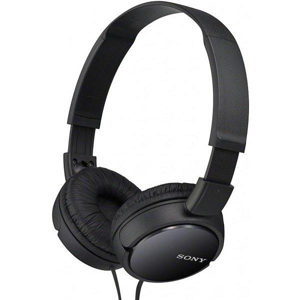 Купить Наушники Sony MDR-ZX110 mic Black