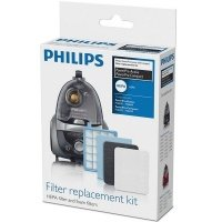 Набор фильтров для безмешковых пылесосов FC84xx - FC86xx серий Philips FC8058/01 (FC8058/01)