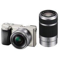 Фотоаппарат SONY Alpha a6000 + 16-50 + 55-210 Silver (ILCE6000YS.CEC)