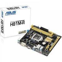Материнська плата ASUS H81M-R/C/SI/White-Box (H81M-R/C/SI/White-Box)