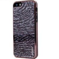 Чехол ODOYO для iPhone 5/5S/SE GLAMOUR SPARKLE'IN ZEBRA