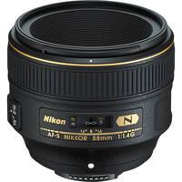 Объектив NIKON AF-S 58 mm f/1.4G (JAA136DA)