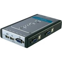 KVM-переключатель D-Link DKVM-4U 4port, w/USB (DKVM-4U)