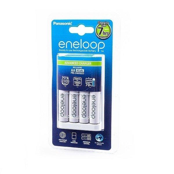 Купить Зарядное устройство Panasonic Advanced Charger+ Eneloop 4AA 1900 mAh