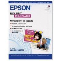 Бумага Epson Photo Quality Ink Jet Card, 50л. (S041054)