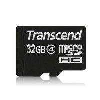Карта памяти Transcend microSDHC 32GB Class 4 R7/W5MB/s