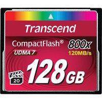 Карта памяти TRANSCEND CF 128GB 800X R120/W60 MB/s (TS128GCF800)