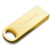 Накопичувач USB 2.0 TRANSCEND JetFlash 520 64GB Metal Gold (TS64GJF520G)