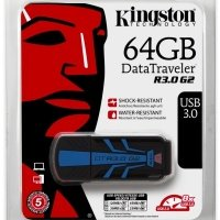 Накопитель USB 3.0 KINGSTON DT R G2 64GB Rugged (DTR30G2/64GB)