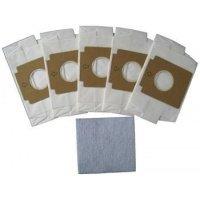 Gorenje GB1 5 бумажных мешков и фильтр (PBU95/110) (GB1)