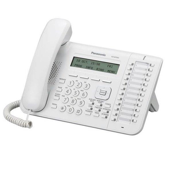 Купить IP-телефон Panasonic KX-NT543RU White для АТС Panasonic KX-TDE/NCP/NS