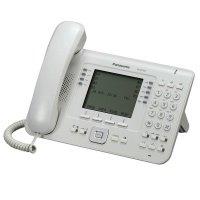 IP-телефон Panasonic KX-NT560RU White для АТС Panasonic KX-TDE/NCP/NS