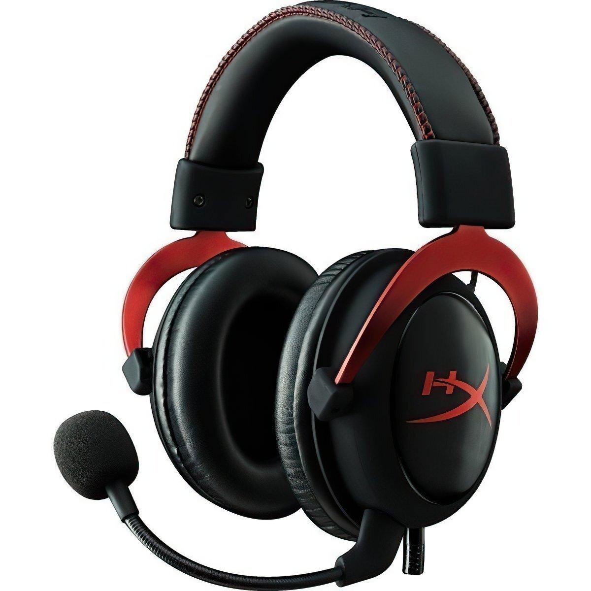 Игровая гарнитура HyperX Cloud II Red (KHX-HSCP-RD) фото 1