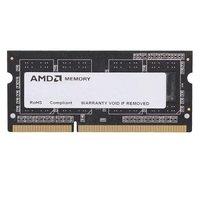 Пам'ять для ноутбука AMD DDR3 1600 4Gb SO-DIMM, 1.35V, BULK (R534G1601S1SL-UOBULK)
