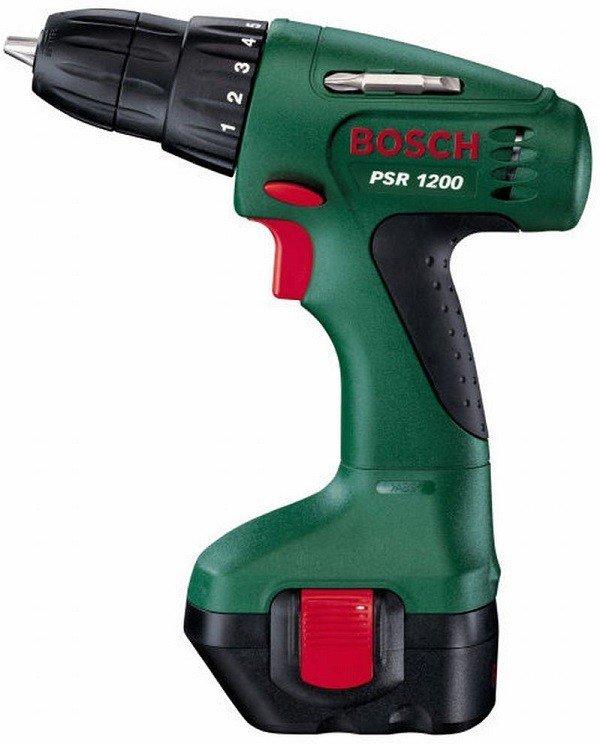 Аккумуляторный шуруповерт Bosch PSR 1200 (0603944508) фото 1