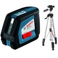 Лазерный нивелир Bosch GLL 2-50 + BS 150 + вкладка под L-Boxx