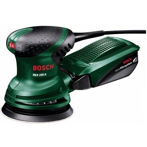Купить Шлифмашины, Шлифмашина эксцентриковая Bosch PEX 220 A (0603378020)