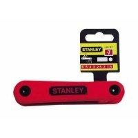 Набор ключей шестигранных Stanley, 7 ед