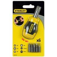 Отвертка Stanley + 6 насадок (0-66-357)