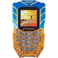 Мобильный телефон Sigma X-treme AT67 Kantri Yellow-Blue