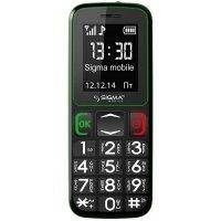 Мобильный телефон Sigma Comfort 50 mini3 Black-green