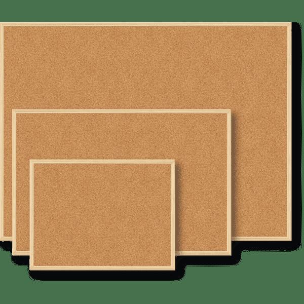 доска пробковая Buromax 60x90см деревянная рамка Bm0014