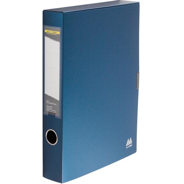 ≡ Папка-бокс для документів Buromax на липучці т-синій (BM.3201-03 ... 75e486a2de14a