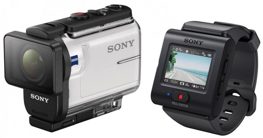 SONY HDR-AS300 + пульт д/у RM-LVR3 (HDRAS300R.E35)