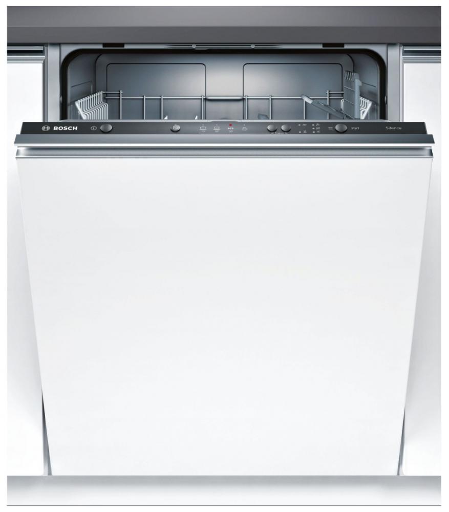 Фронтальный обзор посудомоечной машины Bosch SMV24AX10K