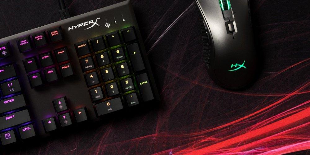 Игровая клавиатура HyperX Alloy FPS RGB Silver Speed