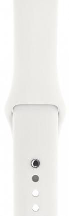 Смарт-часы Apple Watch Series 3 GPS 42mm Silver Aluminium Case with White Sport Band