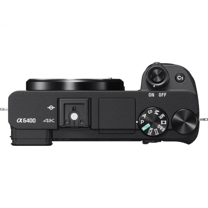 Элементы управления фотоаппарата Сони Alpha a6400 + 16-50