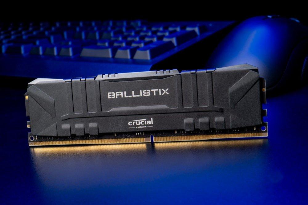 ≡ Память для ПК Micron Crucial DDR4 2666 16GB KIT (8GBx2 ...