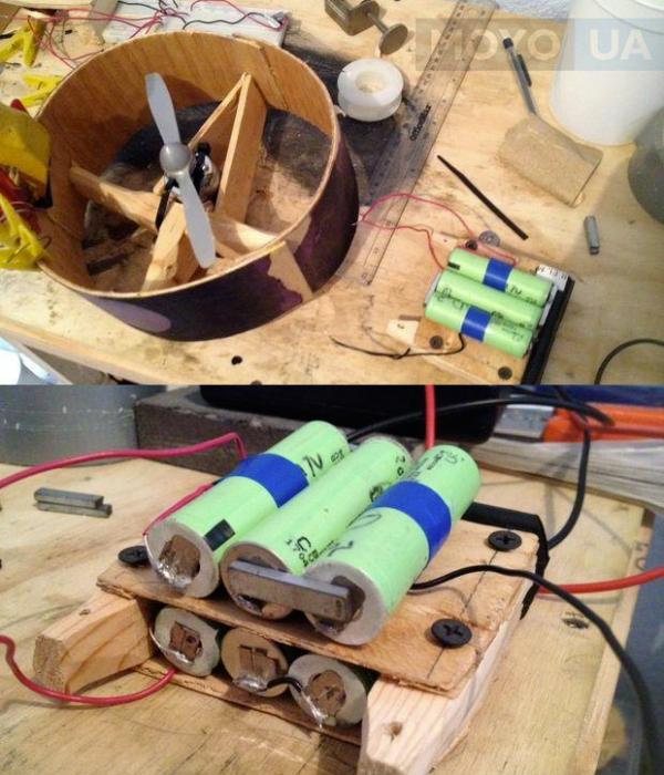 создание самодельного вентилятора
